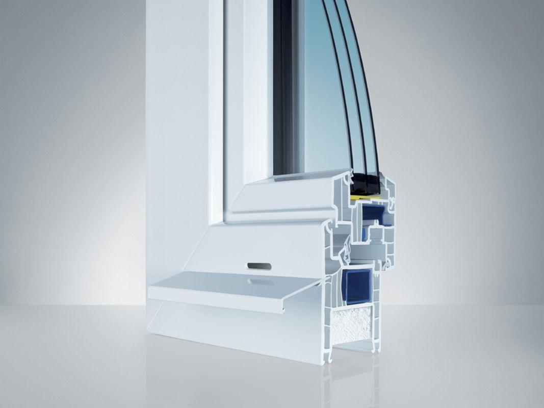 Kunststoff fenster topdesign innenausbau for Fensterelemente kunststoff