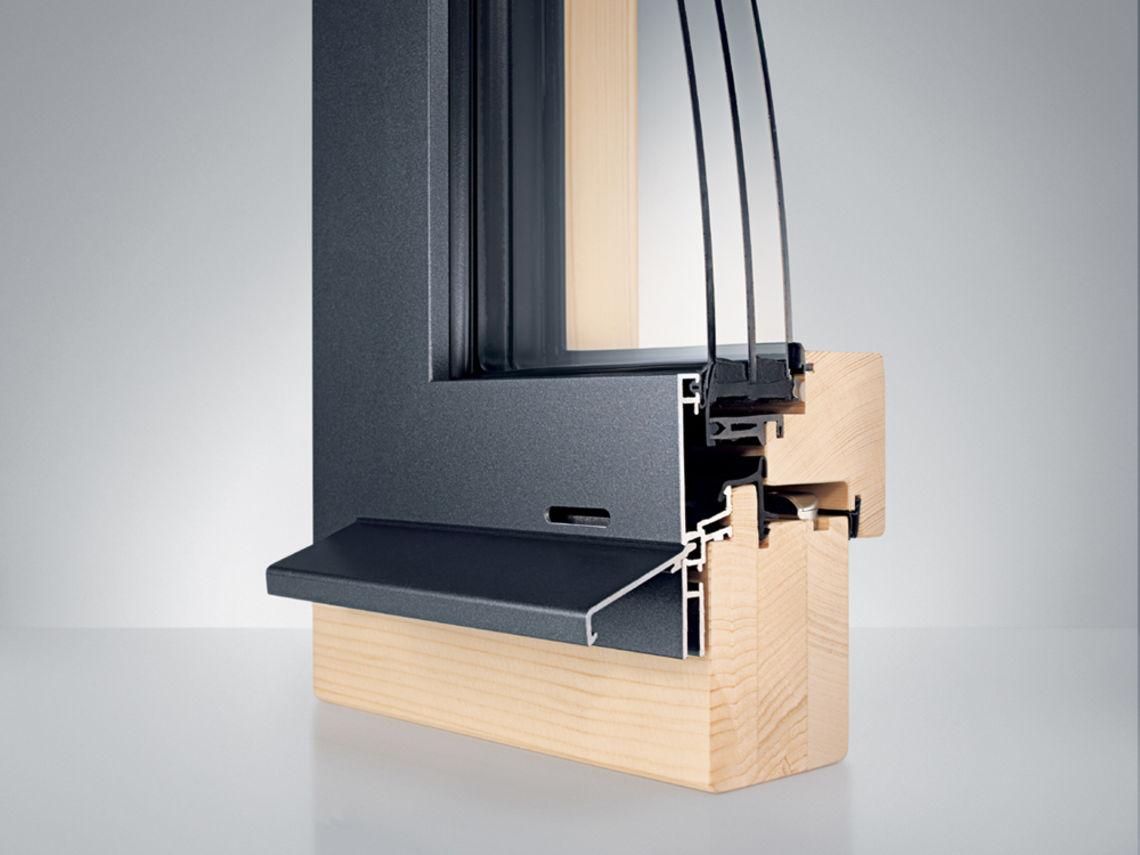 holz aluminium fenster topdesign innenausbau. Black Bedroom Furniture Sets. Home Design Ideas